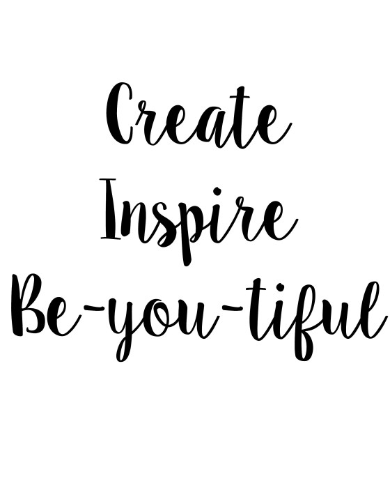 Create Inspire beyoutiful