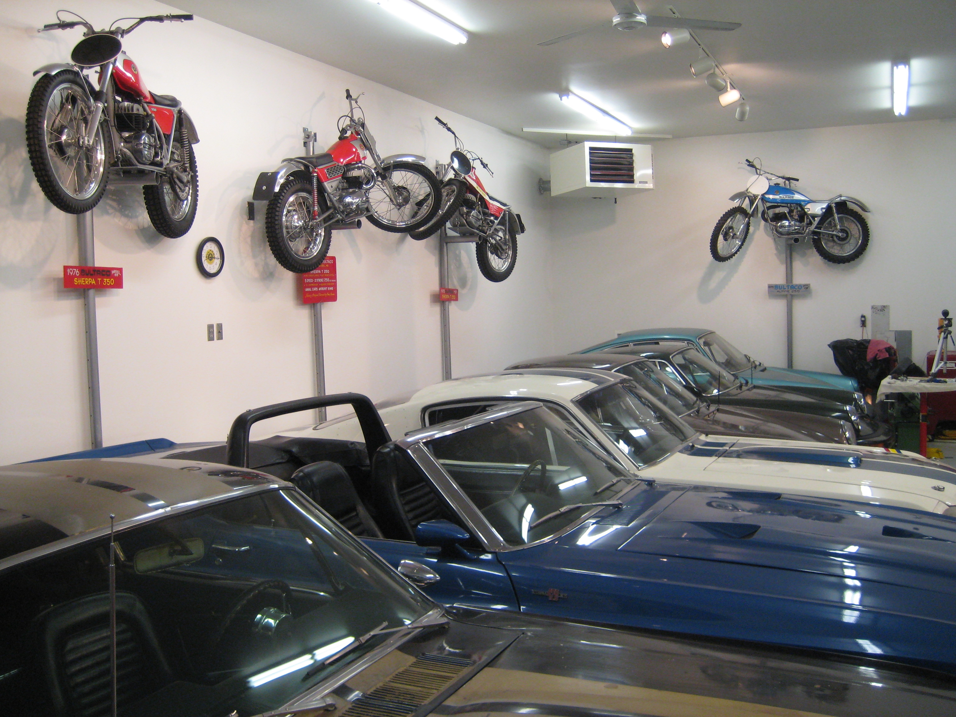 Shelby's Porsches and Bultaco's