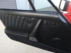 Porsche 930 interior door panel