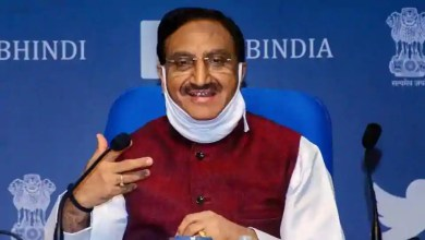 Union Minister for Human Resource Development, Dr. Ramesh Pokhriyal 'Nishank'.