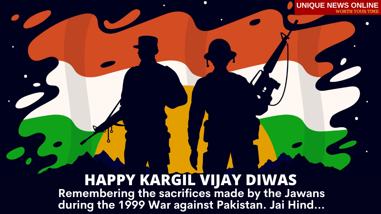 Kargil Vijay Diwas 2021 Messages and HD Images: WhatsApp Stickers, Patriotic Quotes, Facebook Greetings and SMS to Send Wishes and Honour Indian Soldiers Who Lost Their Lives in The Kargil War