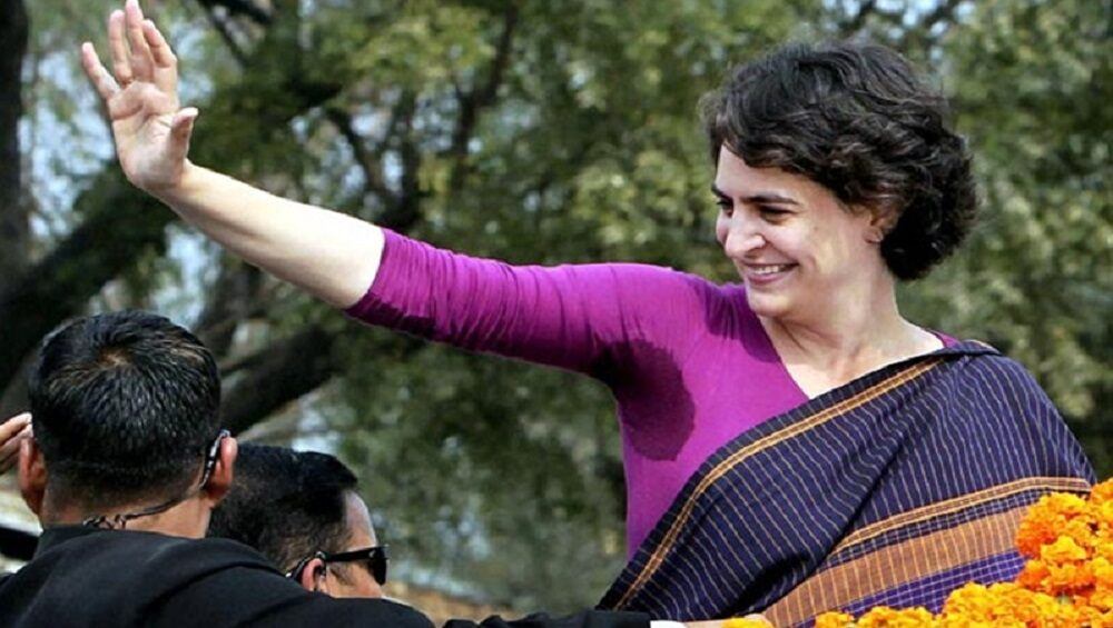 Priyanka Gandhi's farmer mahapanchayat in Mathura today, to protest against new agricultural laws