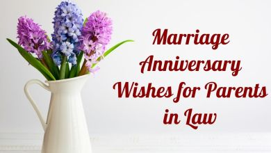 Happy Wedding Anniversary Wishes to Mother in Law and Father in Law | Greetings, and Messages