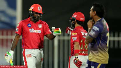 IPL 2020: Gayle, Mandeep stars as Punjab registered there 6th win this season by defeating KKR by 8-Wickets