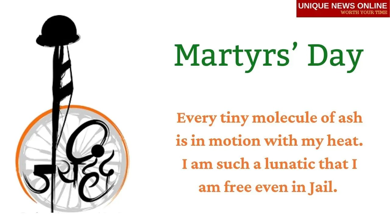 Happy Martyrs Day, Shaheed Diwas 2021 Quotes, Messages, and Images to Share