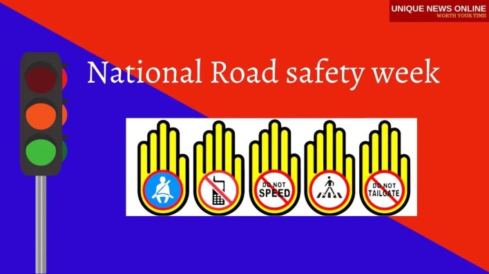 National Road safety week  Images