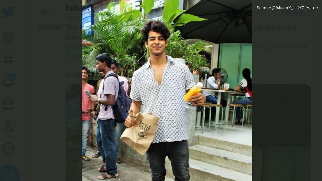 Ishaan Khattar learning this language for the film 'Phone Bhoot', said - I want to give my best shot