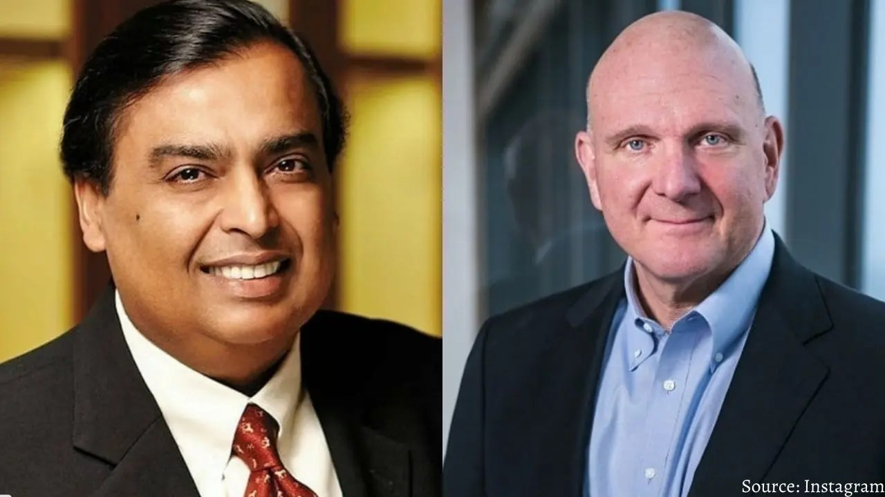 Mukesh Ambani close to beating his classmate in wealth, both billionaires studied from here