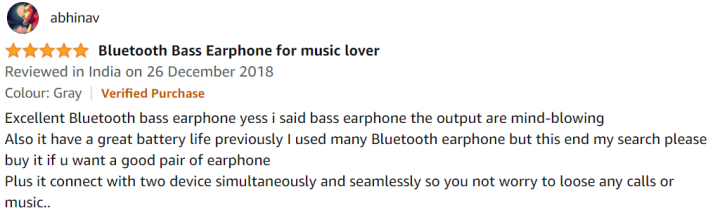Boult Audio Probass Space Customer Reviews