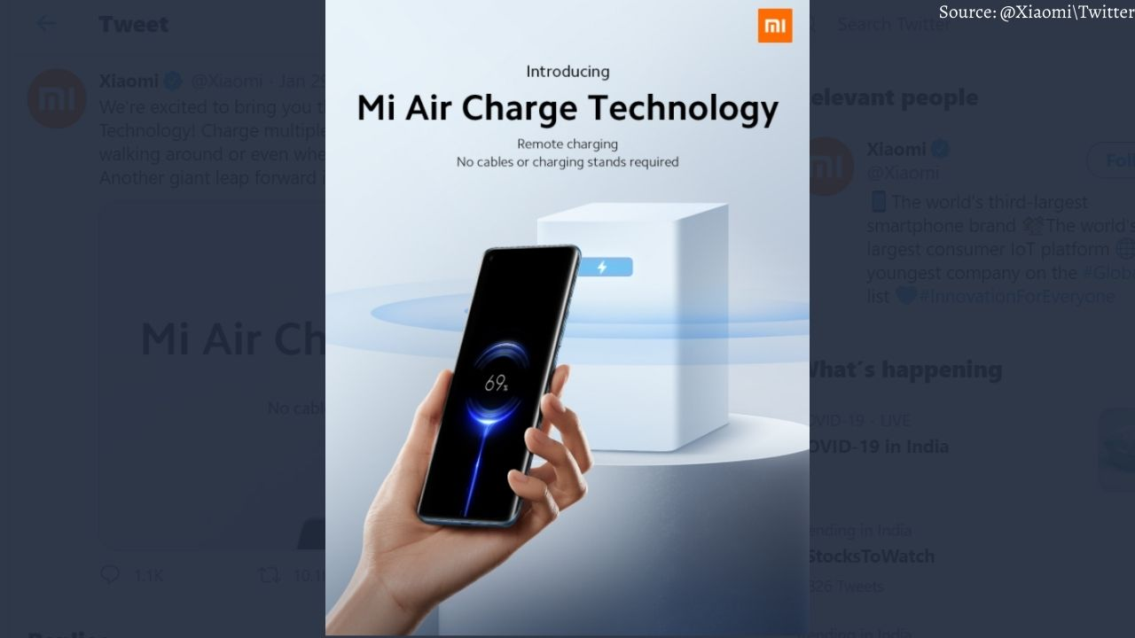 Xiaomi is bringing such technology, the phone will be charged in the air, watch video