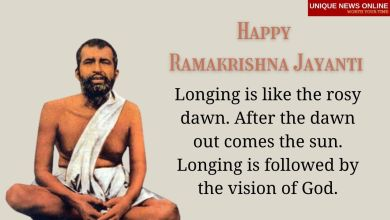 Happy Ramakrishna Jayanti 2021 Wishes, Messages, Greetings, Quotes, and Images