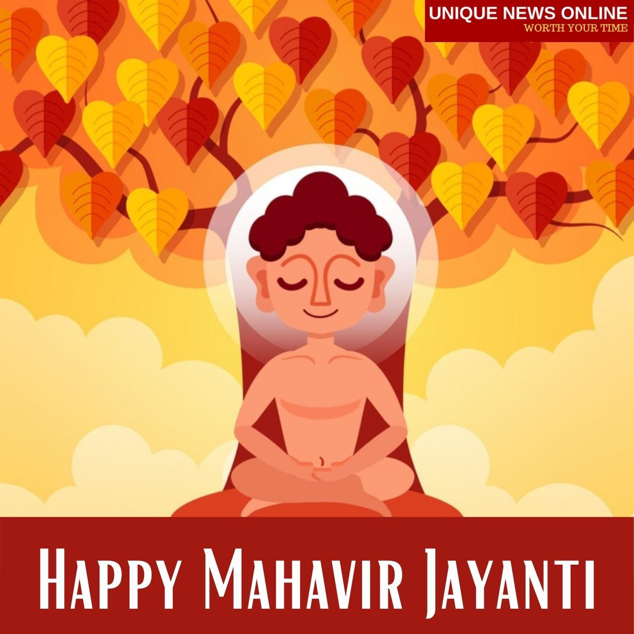Happy Mahavir Jayanti 2021 WhatsApp Status Video Download for Mahavir Janma Kalyanak