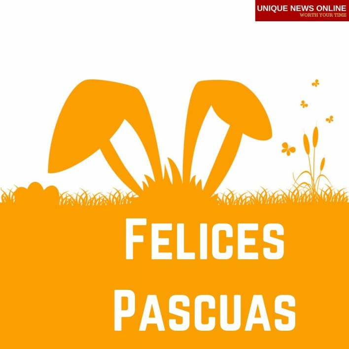 Happy Easter Wishes in Spanish