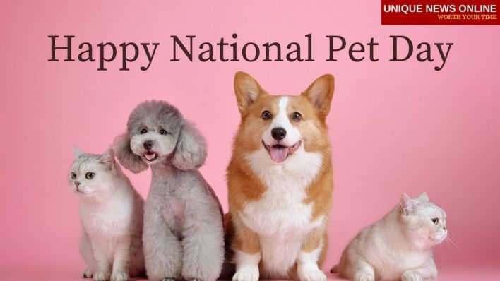 Happy National Pet Day Poster