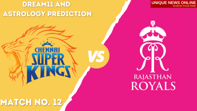 CSK vs RR Match Dream11 and Astrology Prediction, Head to Head, Top Picks, Dream11 Tips, Captain & Vice-Captain, and who will win Chennai Super Kings or Rajasthan Royals?