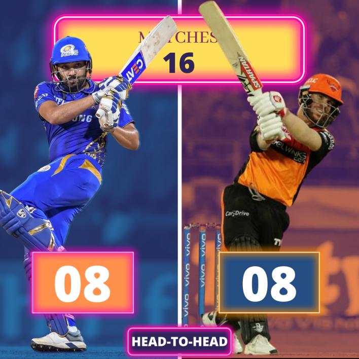 MI vs SRH Head to Head