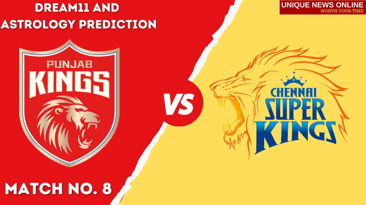 PBKS vs CSK Match Dream11 and Astrology Prediction, Top Picks, Dream11 Tips, Captain & Vice-Captain, and who will win Punjab Kings or Chennai Super Kings?