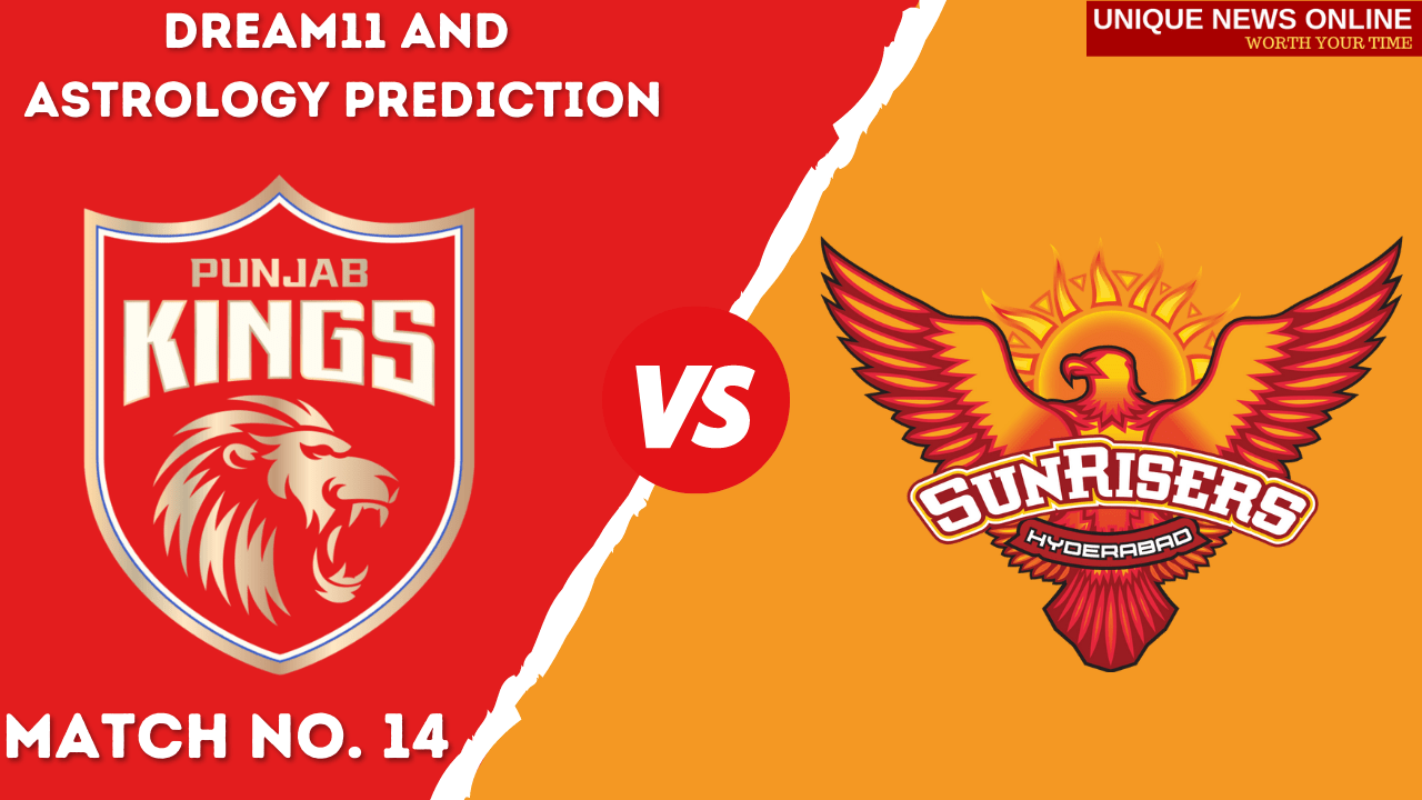 PBKS vs SRH Match Dream11 and Astrology Prediction, Head to Head, Dream11 Top Picks and Tips, Captain & Vice-Captain, and who will win Punjab Kings or Sunrisers Hyderabad?