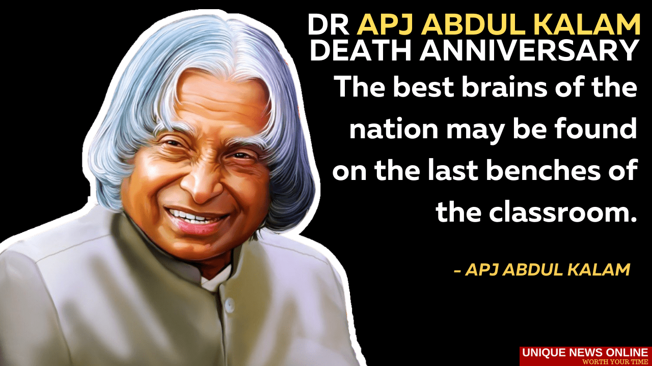 Dr APJ Abdul Kalam Death Anniversary 2021: Top 10 Inspiring Quotes by the 11th President and Great Scientist of India