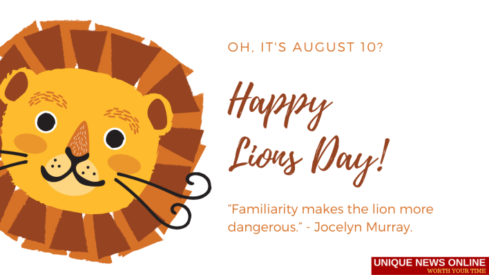 World Lion Day Greetings