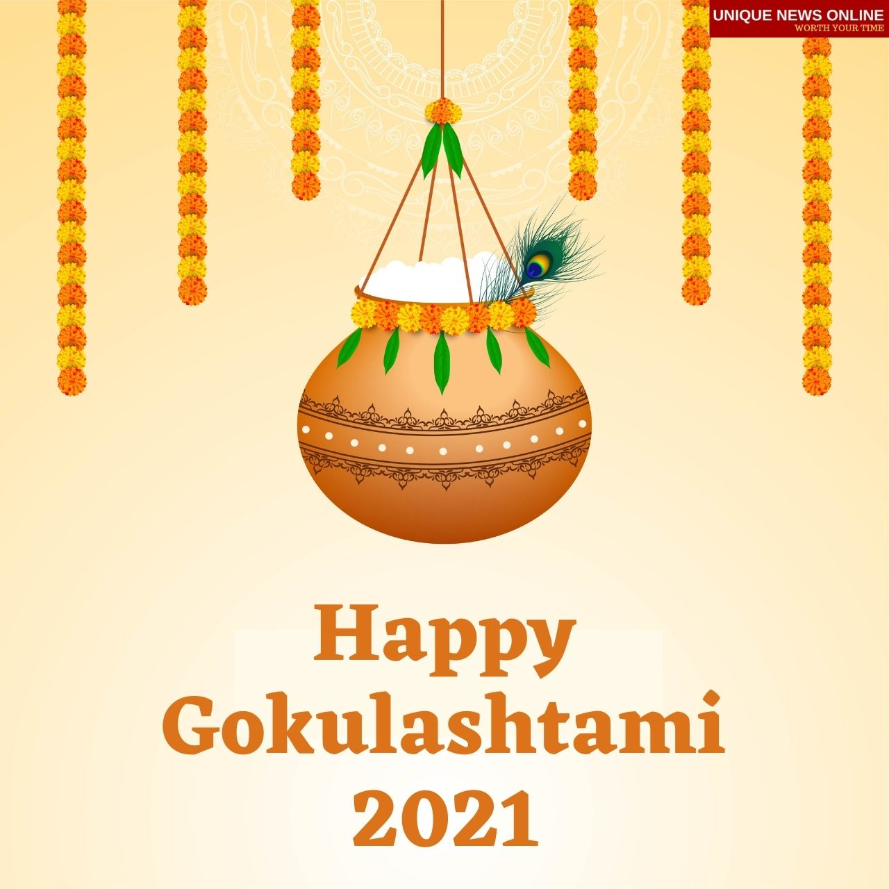 Happy Gokulashtami 2021 Wishes, HD Images, Messages, Quotes, WhatsApp SMS, and Facebook Status