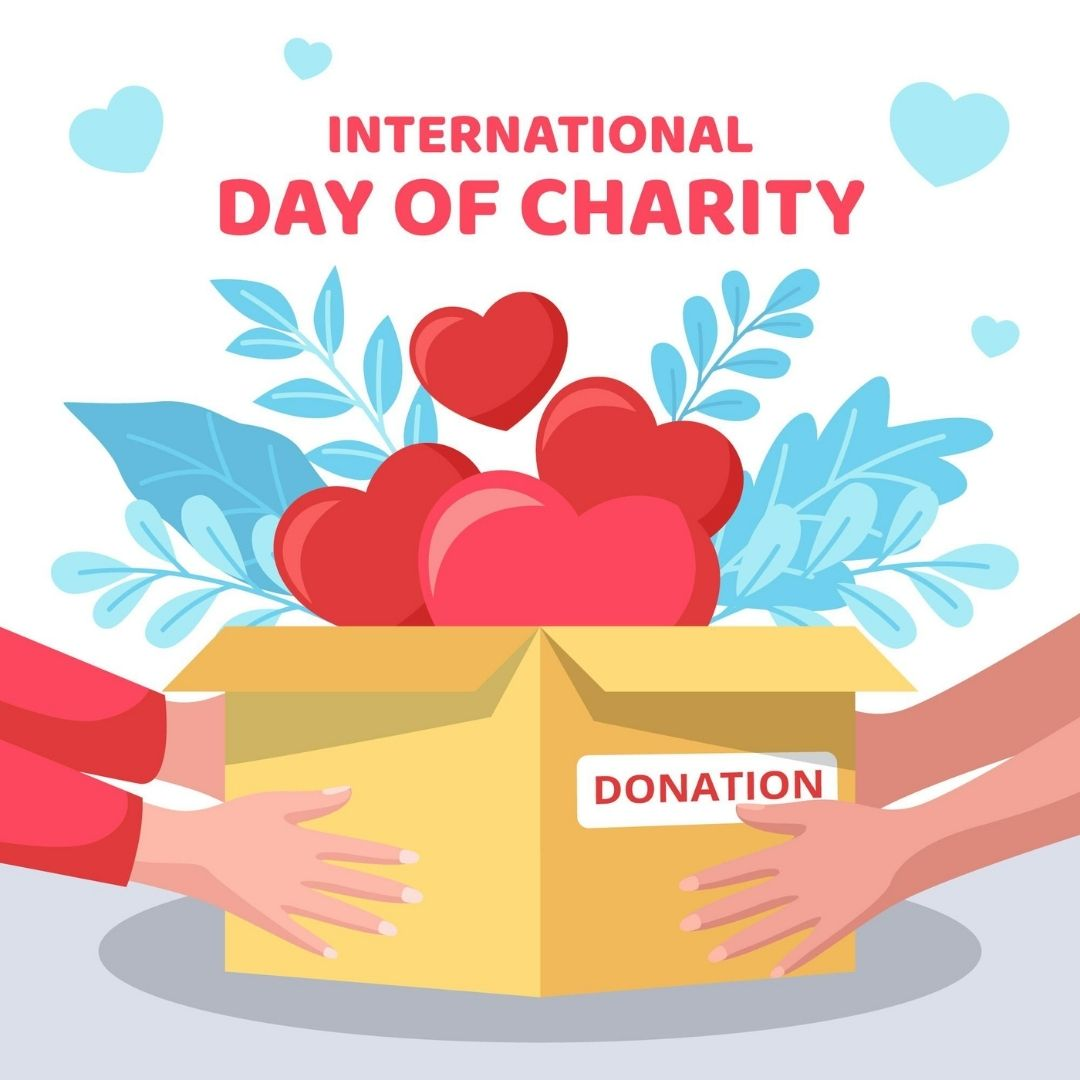 International Day of Charity 2021 Quotes, Images, Wishes, Poster and Messages, to raise awareness