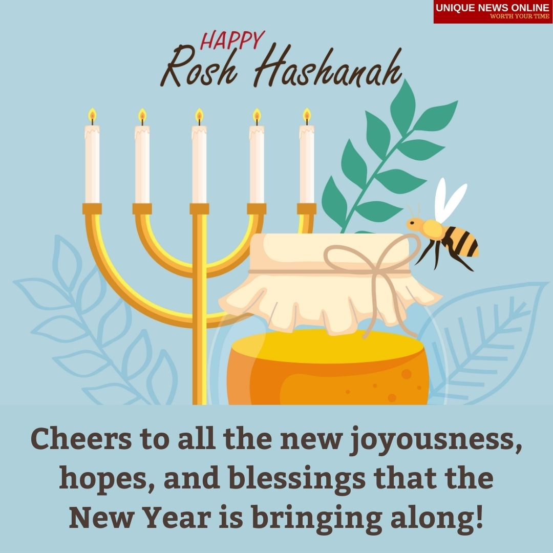 Happy Rosh Hashanah 2021 Wishes, Images, Quotes, Messages, Greetings, and Stickers to greet anyone