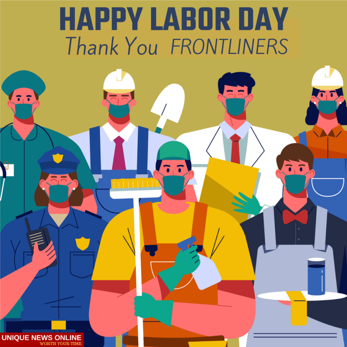 Happy Labor Day Messages for Frontliners