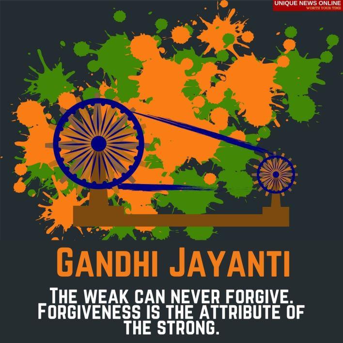 गांधी जयंतीच्या शुभेच्छा