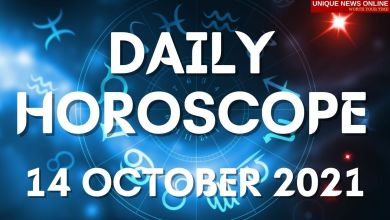 दैनिक कुंडली: 14 ऑक्टोबर 2021, मेष, सिंह, कर्क, तुला, वृश्चिक, कन्या आणि इतर राशींसाठी ज्योतिषीय अंदाज तपासा #DailyHoroscope