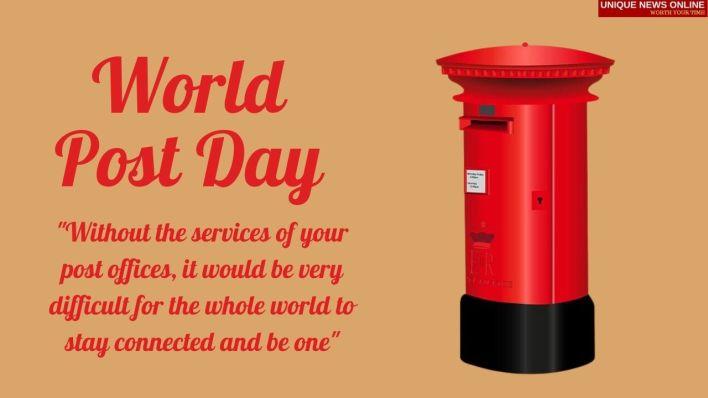 Happy World Post Day 2021