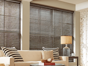 Custom Wood Blinds & Shades