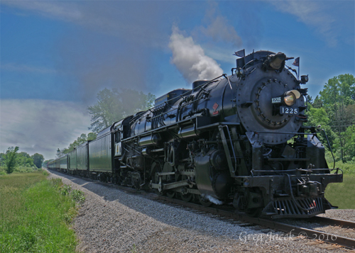 New Photos of Pere Marquette 1225 In Action!