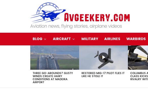 AVGeekery.com Featured My F/A 18 Super Hornet Video in a Recent Article