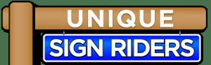 Unique Sign Riders logo
