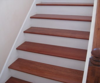 Hardwood Stairs An Introduction To Endless Possibilities Unique | Wood Stairs With Wood Risers | Painting | Solid Oak Stair Treads Finished | Distressed | Before And After | Wooden