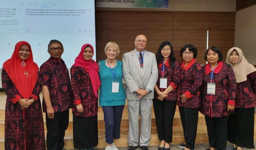 dosen unisbank semarang dalam seminar internasional ICOI 2019 korea selatan