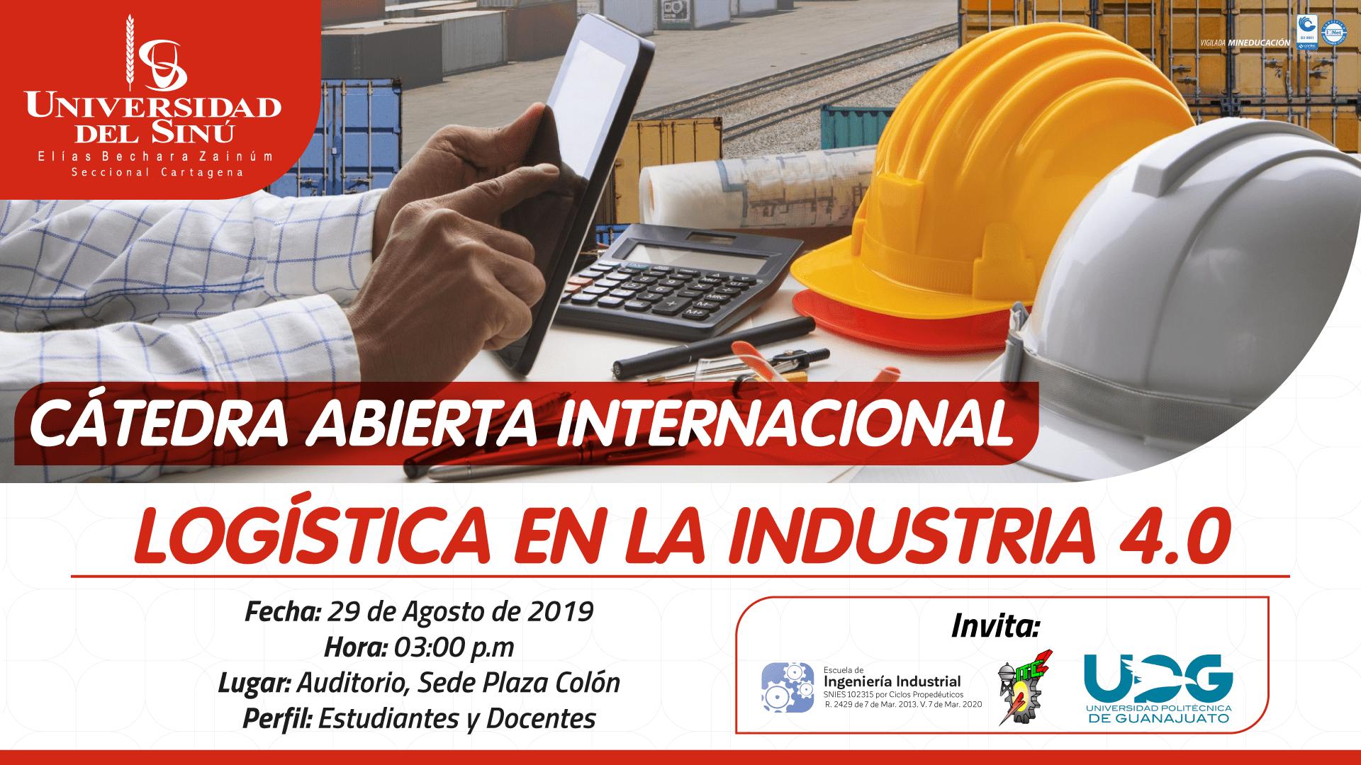 """Catedra-abierta-internacional-""""Logística-en-la-industria-4"""