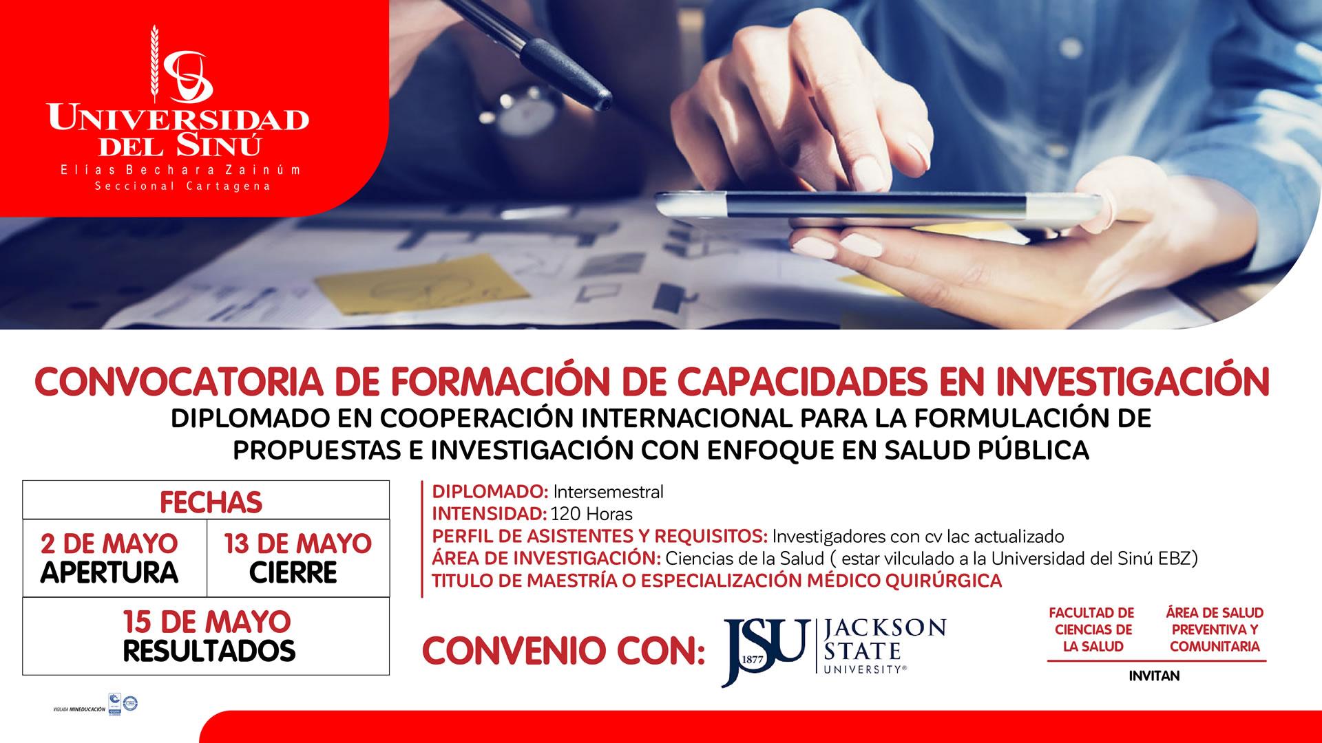 CONVOCATORIA DE FORMACION DE CAPACIDADES EN INVESTIGACION-2019-1p