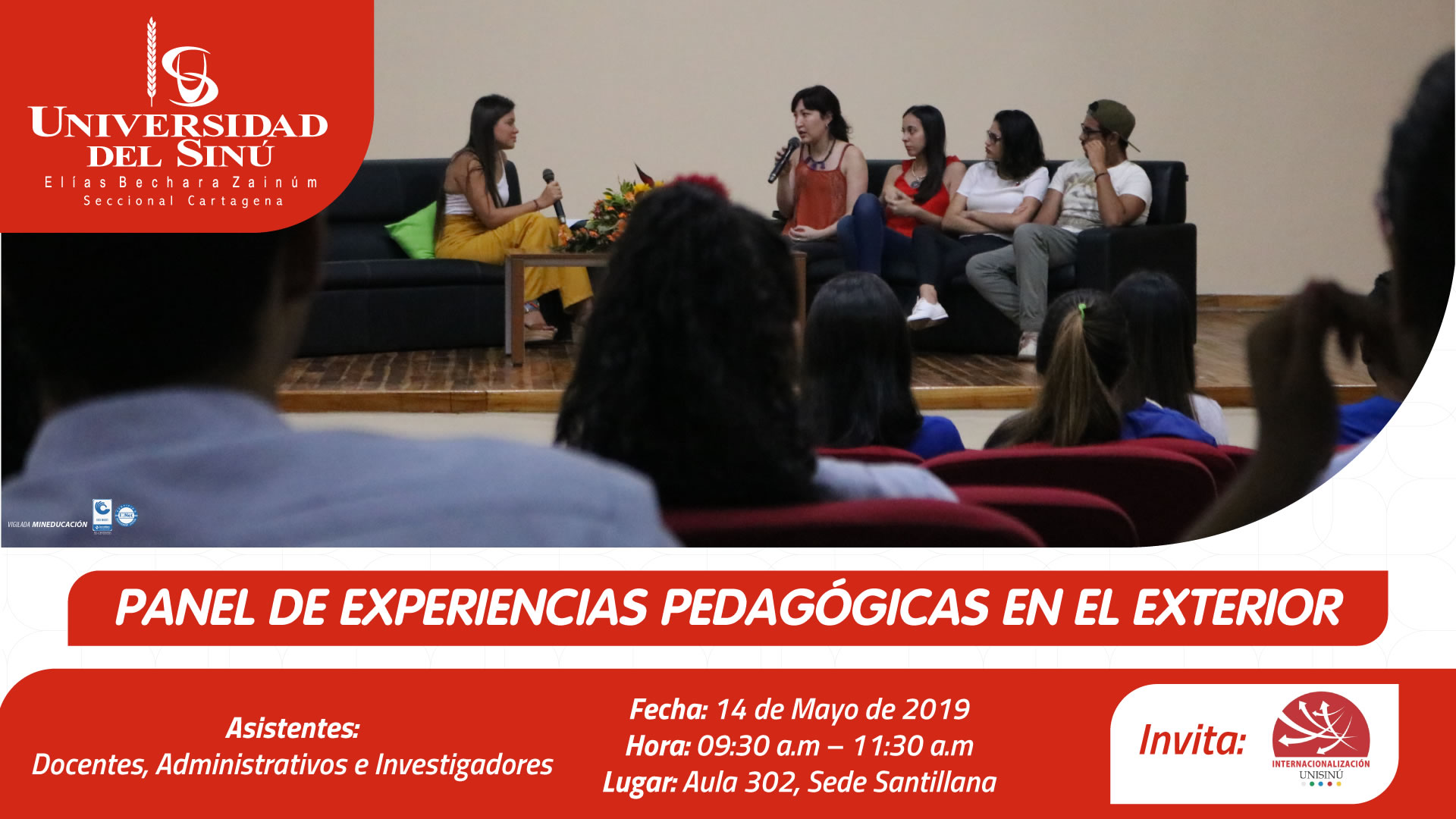 PANEL DE EXPERIENCIA PEDAGOGÍCA
