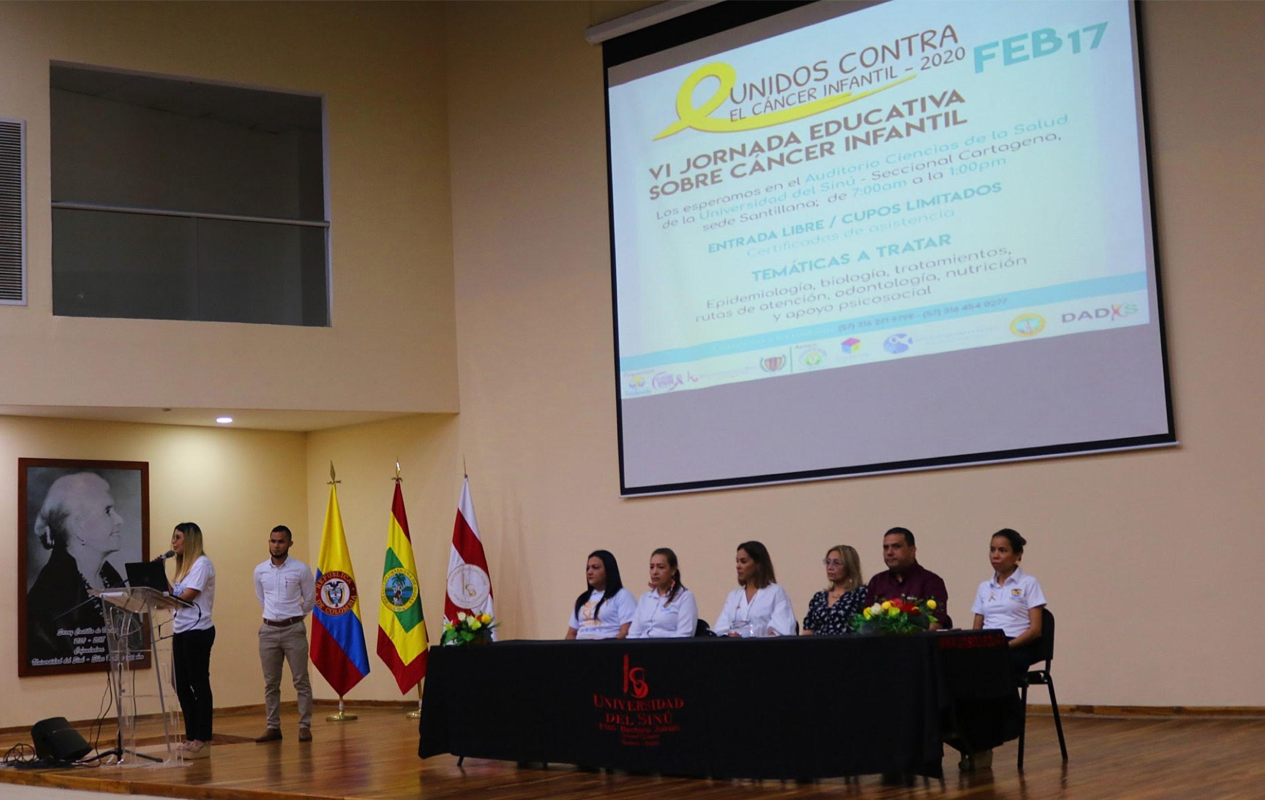 Unisinú realizó Jornada de Educación y Prevención del Cáncer Infantil