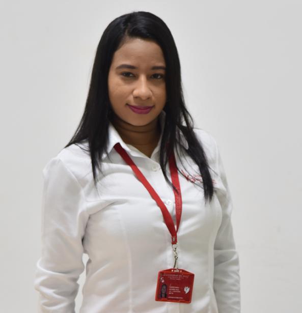 Mayra Ariza Ortega – Auxiliar Servicio al Publico en Biblioteca
