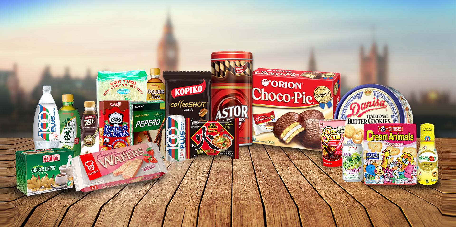 Our Brands - Bringing the world's favourite treats to Europe