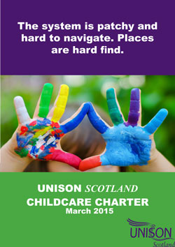 UNISON Scotland Childcare charter March 2015 image 4