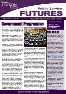 Public Service Futures Issue 13 - Autumn 2015