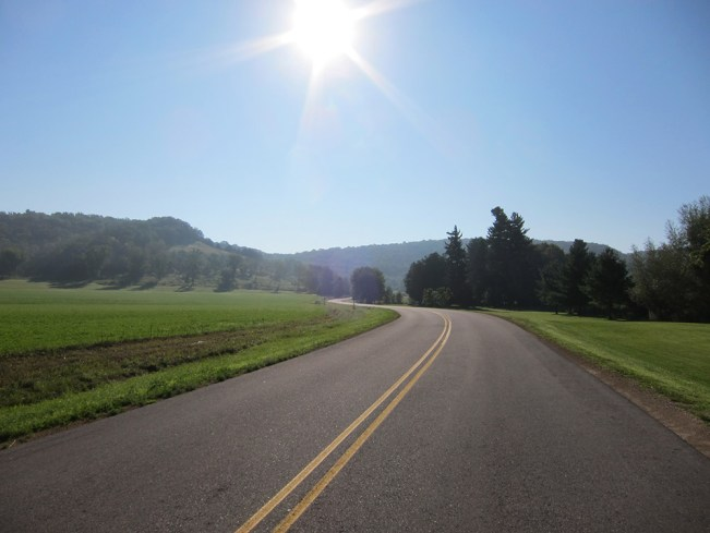 Driftless Wisconsin motorcycle ride