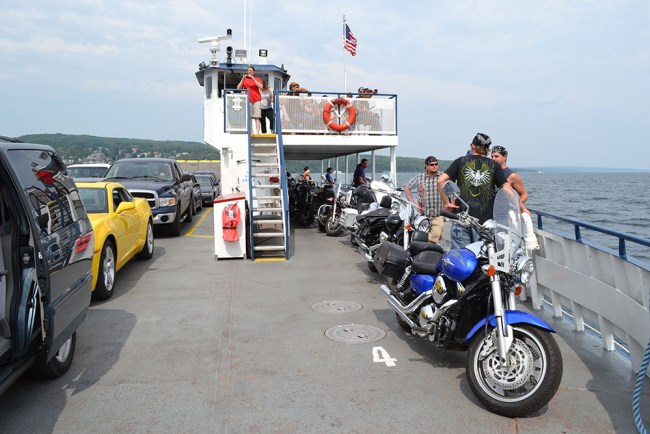 Apostle Islands Wisconsin motorcycle ride