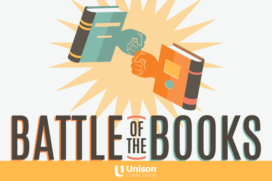 Unison Announces Battle of the Books: Cast Your Vote for Your Favorite Page Turner March 12 - 22