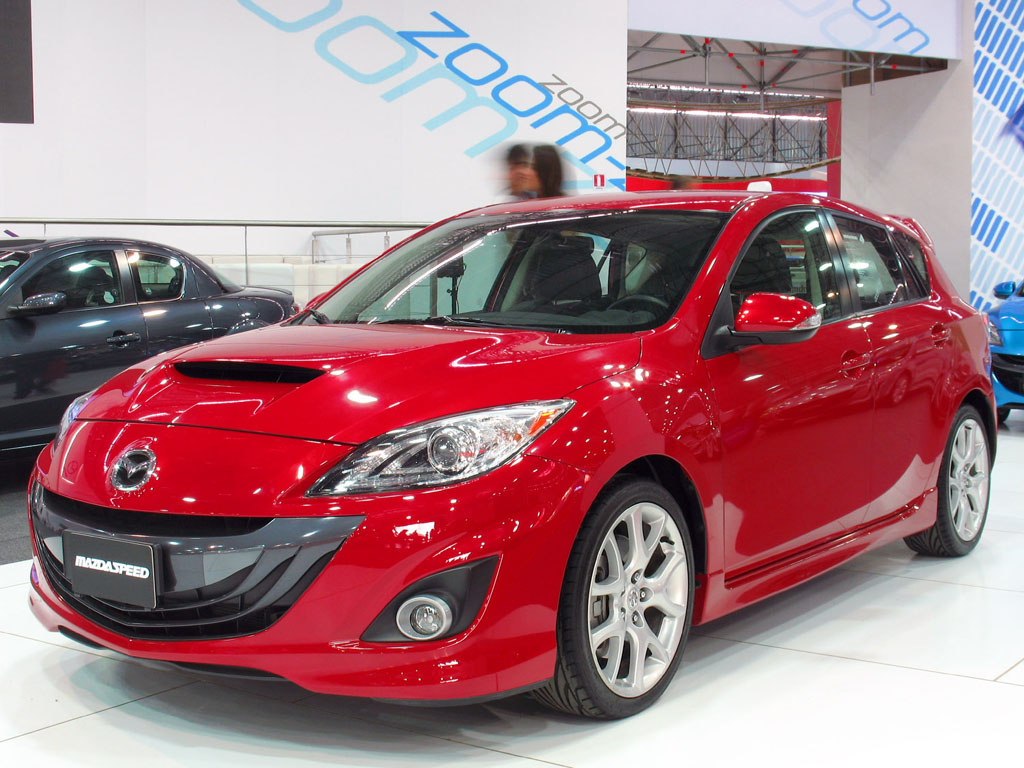 mazda 3 speed for teenager driver