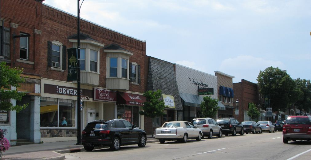 Downtown West De Pere